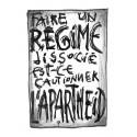 Faire un régime dissocié, est-ce cautionner l'apartheid?