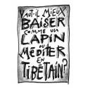 Vaut-il mieux baiser comme un lapin ou méditer en tibétain?