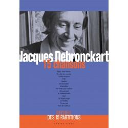 Recueil des 15 partitions de Jacques Debronckart