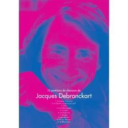 Chemise des 10 partitions de Jacques Debronckart