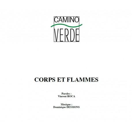 Corps et Flammes - Partition