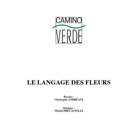 Le langage des fleurs - Partition