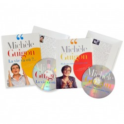 Michèle Guigon - Double livre disque