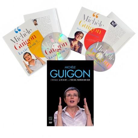 Michèle Guigon - DVD et double livre disque